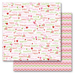 Queen and Company - Kids Collection - 12 x 12 Double Sided Paper - Girl Words