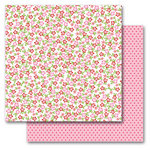 Queen and Company - Kids Collection - 12 x 12 Double Sided Paper - Girl Flowers