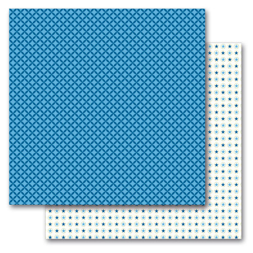 Queen and Company - Kids Collection - 12 x 12 Double Sided Paper - Boy Stars