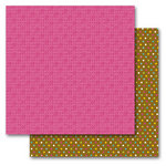 Queen and Company - Birthday Collection - 12 x 12 Double Sided Paper - Birthday Numbers