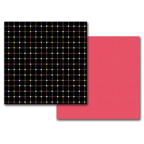Queen and Company - Magic Collection - 12 x 12 Double Sided Paper - Magic Dots