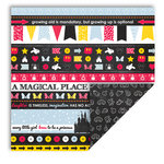 Queen and Company - Magic Collection - 12 x 12 Double Sided Paper - Magic Borders
