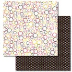 Queen and Company - Magic Millennium Collection - 12 x 12 Double Sided Paper - Bubbles