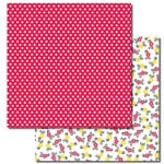Queen and Company - Magic Millennium Collection - 12 x 12 Double Sided Paper - Polka Dots