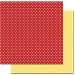 Queen and Company - Magic Collection - 12 x 12 Double Sided Paper - Polka Dots