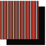 Queen and Company - Magic Collection - 12 x 12 Double Sided Paper - Stripes