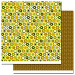 Queen and Company - Wild Things Collection - 12 x 12 Double Sided Paper - Circles