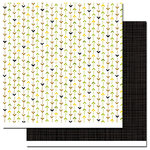 Queen and Company - Wild Things Collection - 12 x 12 Double Sided Paper - Pathways