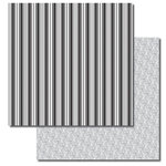 Queen and Company - Formal Collection - 12 x 12 Double Sided Paper - Stripes