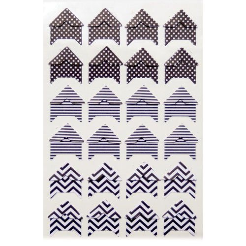 Queen and Company - Perfect Party Collection - Photo Corners - Black
