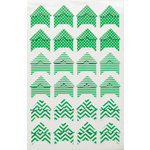Queen and Company - Perfect Party Collection - Photo Corners - Green