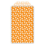 Queen and Company - Perfect Party Collection - Decorative Bags - Floral - Orange Crush