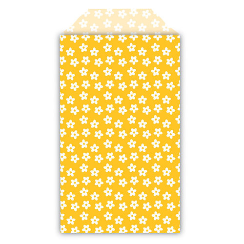 Queen and Company - Perfect Party Collection - Decorative Bags - Floral - Lemon Drop