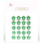 Queen and Company - Flower Pave - Green