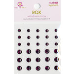 Queen and Company - Rox Collection - Bling - Self Adhesive Marble Stones - Hypnotic, CLEARANCE