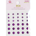 Queen and Company - Rox Collection - Bling - Self Adhesive Marble Stones - Whammy, CLEARANCE