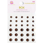 Queen and Company - Rox Collection - Bling - Self Adhesive Ice Stones - Chocolate Delight