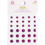 Queen and Company - Rox Collection - Bling - Self Adhesive Ice Stones - Orchid, CLEARANCE