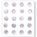 Queen and Company - Bling - Self Adhesive Stones - Petal Pink