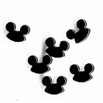 Queen and Company - Disney - Specialty Brads - Magic Hat - Black