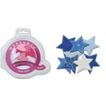 Queen and Company - Bold Star Brads - 8 pieces - Be Blue