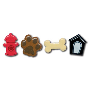 Queen and Company - Pets Collection - Brads - Dog, BRAND NEW