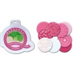 Queen and Company - Bold Round Brads - 10 pieces - Think Pink, CLEARANCE