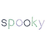 Queen and Company - Halloween Collection - Bling - Self Adhesive Rhinestones - Spooky