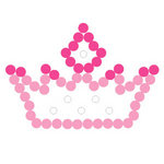 Queen and Company - Magic Millennium Collection - Disney - Bling - Self Adhesive Rhinestones - Princess Crown
