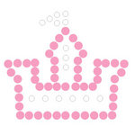 Queen and Company - Magic Millennium Collection - Bling - Self Adhesive Rhinestones - Castle
