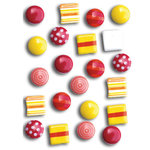 Queen and Company - Sprinkles - Hottie - Mini Brads, CLEARANCE