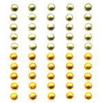 Queen and Company - Bling - Self Adhesive Rhinestone Duos - Yellows