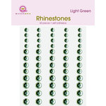 Queen and Company - Jewels - Adhesive Rhinestones - Green, CLEARANCE