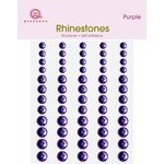 Queen and Company - Bling - Self Adhesive Rhinestones - Lavender