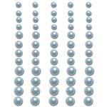 Queen and Company - Bling - Adhesive Pearls - Light Blue, BRAND NEW