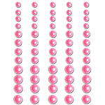Queen and Company - Bling - Adhesive Pearls - Pink, BRAND NEW