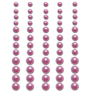 Queen and Company - Bling - Adhesive Pearls - Lavender, BRAND NEW