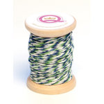 Queen and Company - Kids Collection - Twine Spool - Boy - Blue Green and White