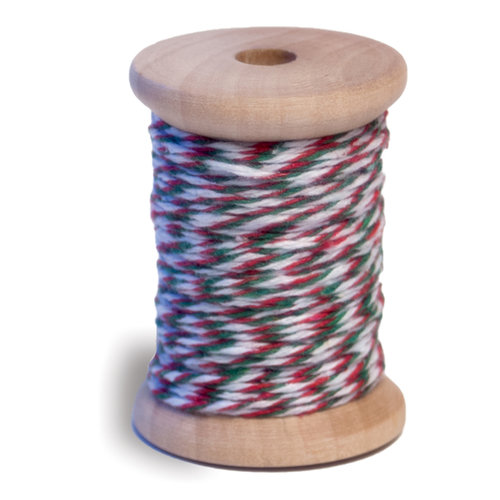 Queen and Company - Twine Spool - Christmas