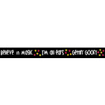 Queen and Company - Magic Collection - Trendy Tape - Magic Words