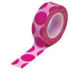 Queen and Company - Trendy Tape - Mega Dot Pink