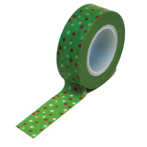 Queen and Company - Trendy Tape - Micro Dot Christmas