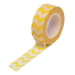 Queen and Company - Trendy Tape - Chevron Yellow
