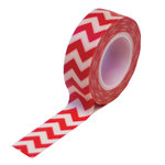 Queen and Company - Trendy Tape - Chevron Red