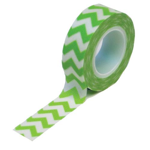 Queen and Company - Trendy Tape - Chevron Green