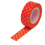 Queen and Company - Trendy Tape - Polka Dot Orange