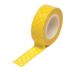 Queen and Company - Trendy Tape - Polka Dot Yellow