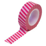 Queen and Company - Trendy Tape - Vertical Stripes Pink