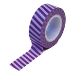 Queen and Company - Trendy Tape - Vertical Stripes Purple