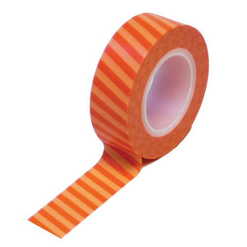Queen and Company - Trendy Tape - Vertical Stripes Orange